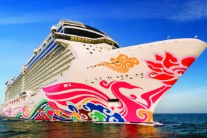 The Norwegian Joy is as much fun as it looks.