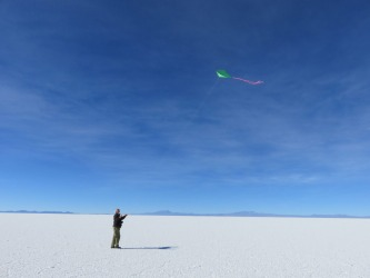 You realise just how insignificant you are when in the middle of a sea of salt.