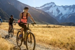 Ride the Islands: New Zealand's undiscovered gems. Brand Discover