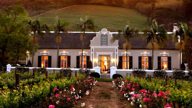 Grande Roche Hotel Paarl South Africa