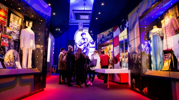 Inside the British Music Experience.