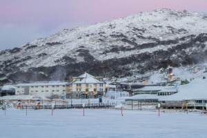 Perisher saw 20cm of snow dumped across the valley on the weekend.