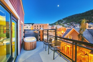 "Main and Sky: This modern property that's ""downtown"" Park City is in the heart of the action. Overlooking the two ..."