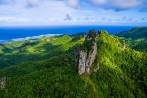 Rarotonga's mountainous interior makes for exciting hiking.