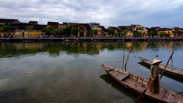 The ancient town of Hoi An is a mix of Vietnamese, Chinese, Japanese and French architecture.