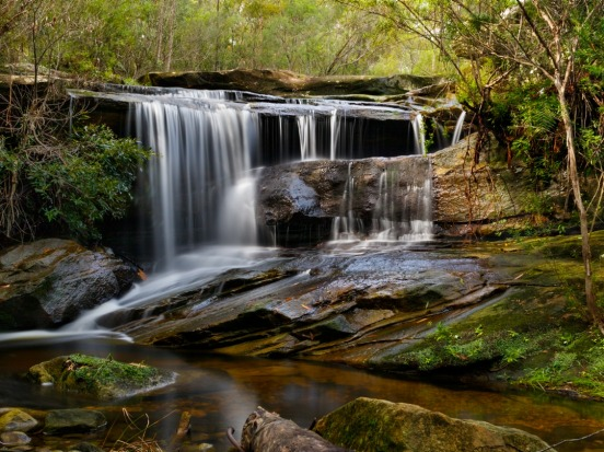A beautiful waterfall in Garigal NP NSW. It is a hidden gem close to my home.