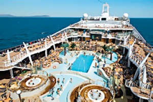 MSC Splendida sun deck