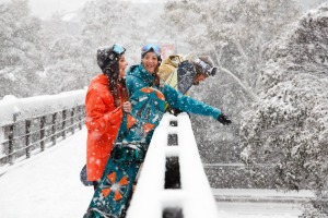 Good times in the snow at Thredbo.