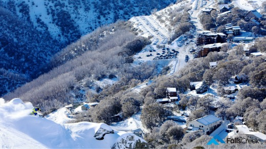 Falls Creek was blanketed in snow for the opening of the ski season.
