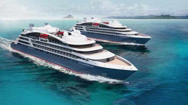 US company Tauck operates cruises on Ponant ships.