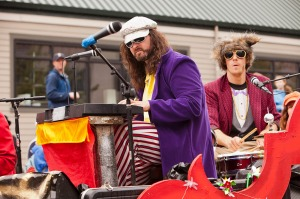 Members of the Phish-y! in the annual Fremont Solstice Day Parade.
