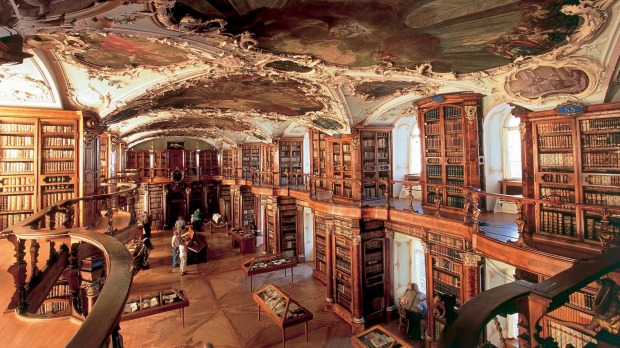 The Abbey Library of St Gall in St Gallen.