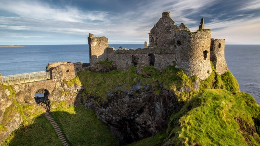 A land like no other: Ruins of Dunluce Castle, Northern Ireland.