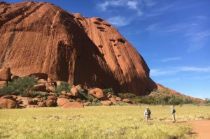 Uluru up close will surprise you.