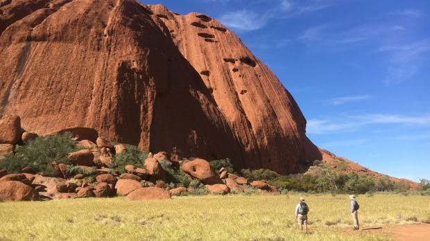 Mapping Uluru with Google