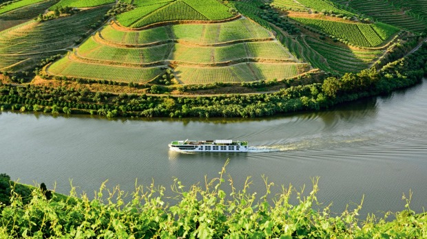 The Douro Valley, in Portugal, is known for its port production.