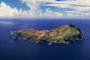 Phillip Island, off Norfolk Island. Getting there is not easy.