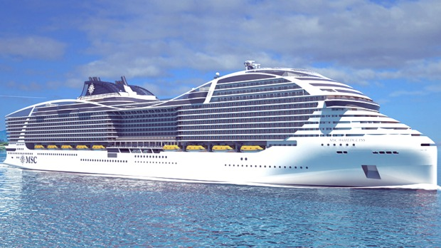 world s biggest cruise ship msc s new world class cruise ship