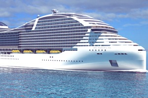 The new 'World Class' ship from MSC Cruises promises to be the world's biggest.