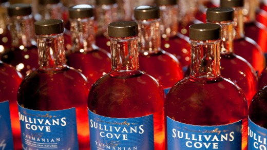 Sullivans Cove's award-winning French Oak single malt gets bottled one at a time.