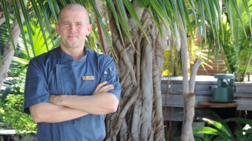 Englishman Chris Long is executive chef at Outrigger Konotta.