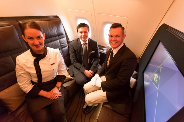 Sixteen-year-old travel blogger Zac George became the youngest person ever to buy his own ticket and fly in Etihad's ...