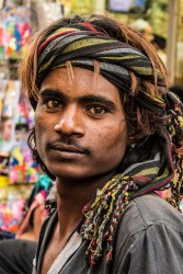 I came across this guy as we were walking down Chandi Chowk from the spice market in New Delhi. I loved the colour of ...