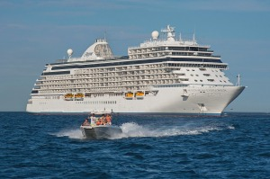 Regent's Seven Seas Explorer set sail in July 2016, billed as 'the most luxurious cruise ship ever built'.
