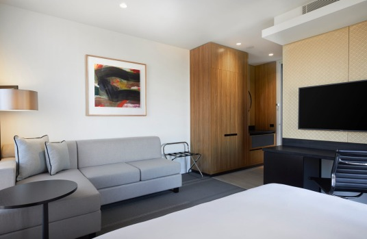 The new sleek business hotel in Essendon Fields, Hyatt Place.