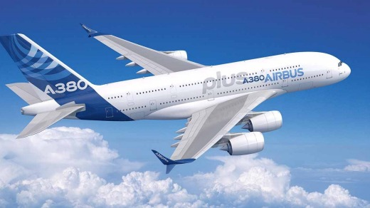 Airbus has unveiled the new A380plus at the Paris Air Show.