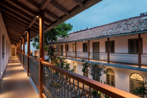 The Fort Bazaar, Galle Fort: One of the latest and most stylish hotel additions to the UNESCO World Heritage Galle Fort, ...