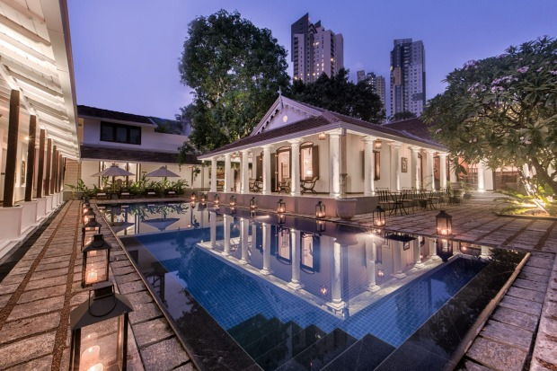 Residence, Colombo: Undisturbed, to a large extent, by development during the civil war, Colombo has been left with a ...