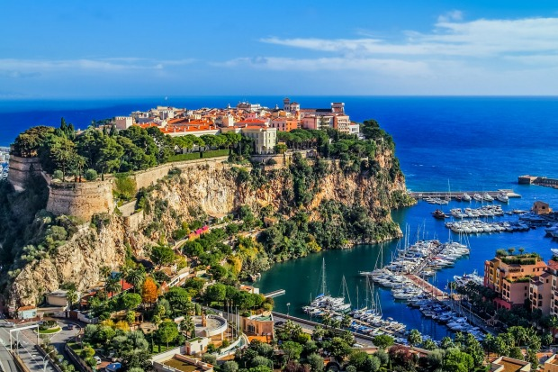 The city of Monaco and Monte Carlo.