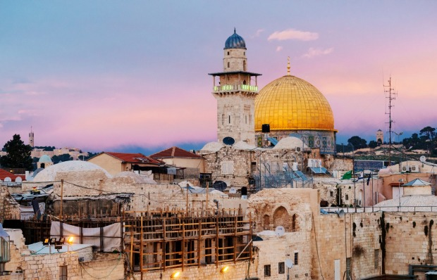 The Dome of the Rock at sunset one of Jerusalem's most recognisable landmarks. WHY GO It is known for its sacred sites, ...