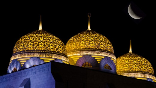 The Mohammed Al Ameen Grand Mosque in Muscat.