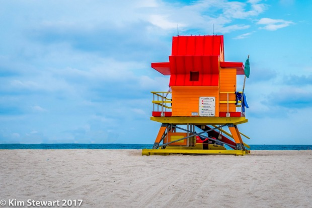 On a recent trip to Miami we stayed at South Beach. The lifesavers huts were iconic.