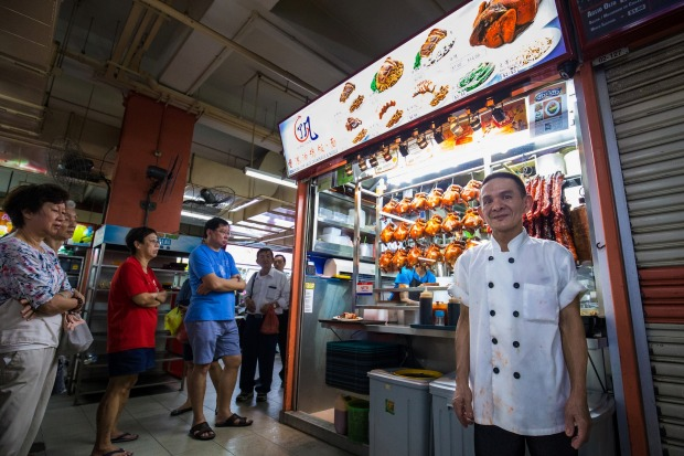 Hong Kong Soya Sauce Chicken Rice and Noodle, Singapore: Singaporeans don't mind queuing for good food. You'll find ...
