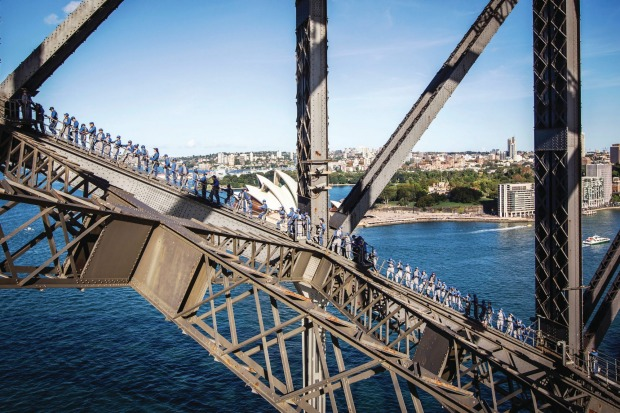 "The Sydney Harbour Bridge, Sydney: The BridgeClimb can be filed under the category of ""not nearly as bad as you think ..."