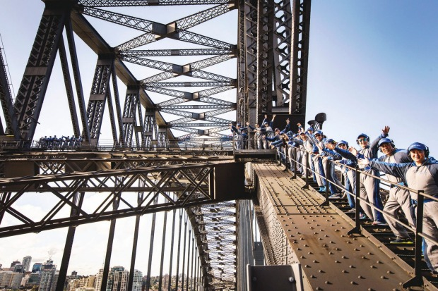 """The Sydney Harbour Bridge, Sydney: The BridgeClimb can be filed under the category of """"not nearly as bad as you think ..."""