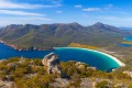 Rugged beauty: Tasmania's Wineglass Bay in Freycinet National Park.
