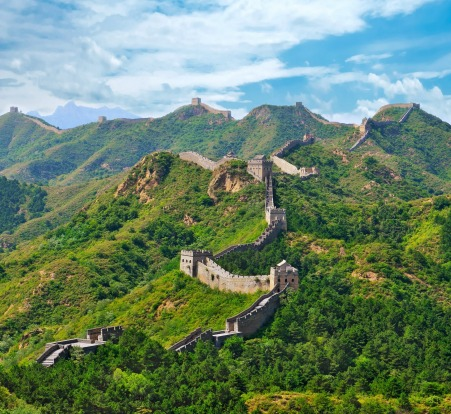 The Great Wall of China would cost $91 billion and take 18 months to build.
