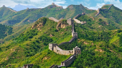 The Great Wall of China would cost $90 billion to build today.