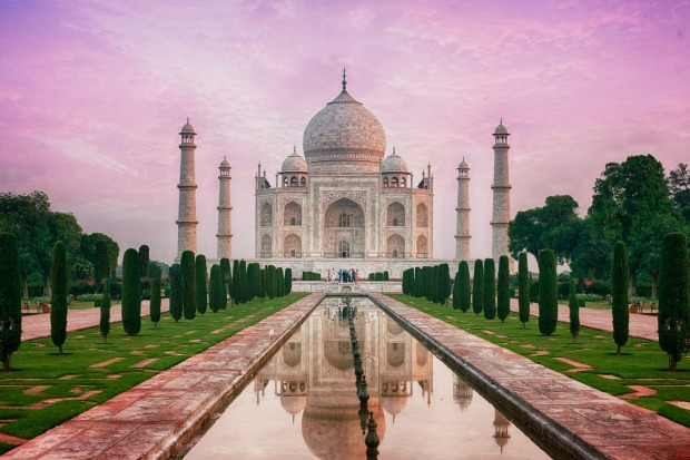 The Taj Mahal (India) would cost $118 million and take 2 years to build.