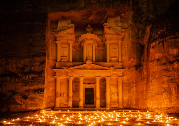 Petra (Jordan) would cost $2 million and take one year to build.