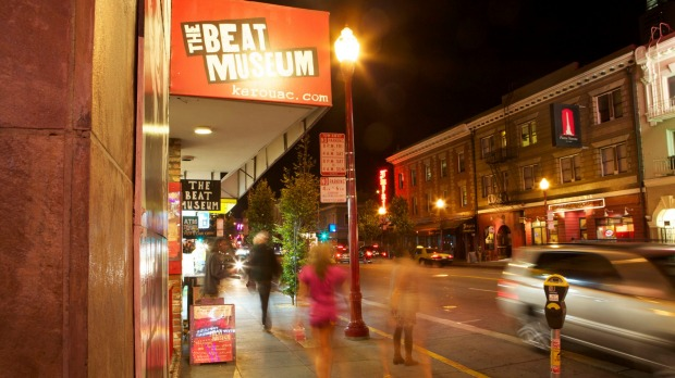 Suitably ramshackle: The Beat Museum at North Beach, San Francisco.