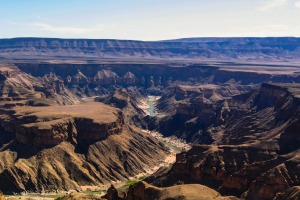 The other grand canyon: Fish River Canyon, Namibia.