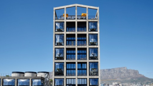 The Silo Hotel, Cape Town, South Africa.