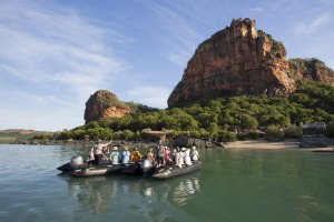 Silversea Zodiac excursion in the Kimberley.