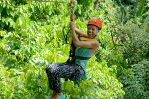 Zipline above the Phuket jungle for a taste of the Tarzan life.