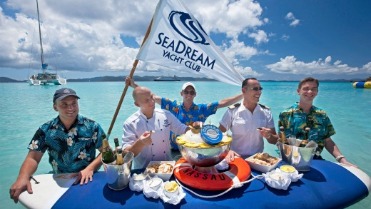 Good times in the Caribbean with SeaDream.